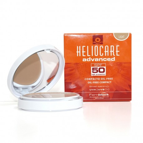 HELIOCARE SPF 50 COMPACTO OIL FREE  LIGHT 10 G