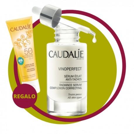 CAUDALIE COFFRET SERUM VINOPERFECT CON SPF 50 DE REGALO