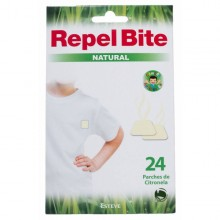 REPEL BITE NATURAL PARCHES ROPA CON CITRONELLA 24 APLICACION