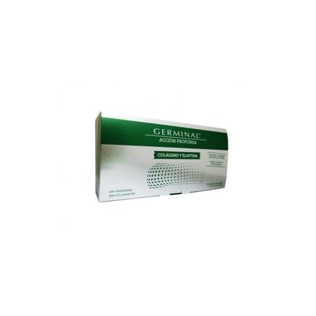 GERMINAL ACCION PROFUNDA COLAGENO Y ELASTINA  1 ML 30 AMPOLL