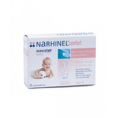 NARHINEL CONFORT ASPIRADOR RECAMBIO  10 BLANDO DESECHABLE