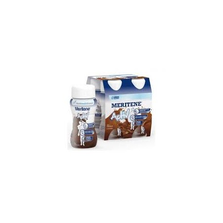 MERITENE DRINK  125 ML 4 BOTELLAS CHOCOLATE