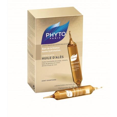 PHYTO PARIS HUILE DALES 5 AMP 10 ML BAÑO BRILLO E HIDRATACI