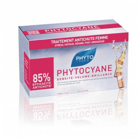 PHYTO PARIS PHYTOCYANE 12 X 75 ML