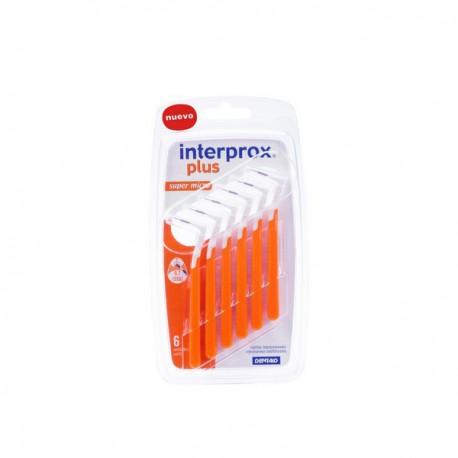 CEPILLO ESPACIO INTERPROXIMAL INTERPROX SUPER MICRO 6 U